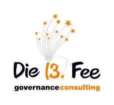 <p>Logo<br /> <strong>Die 13. Fee</strong><br /> Consulting Agentur</p>