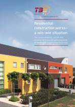 <p><strong>Residential construction works</strong><br /> TBE 2012<br /> Layout, Satz, Grafiken</p>